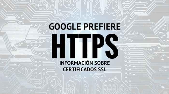 Certificados SSL, migrar a HTTPS