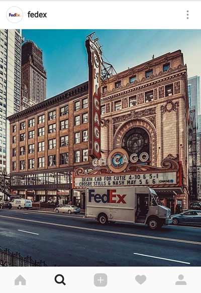 FedEx Mostrando su propuesta de valor