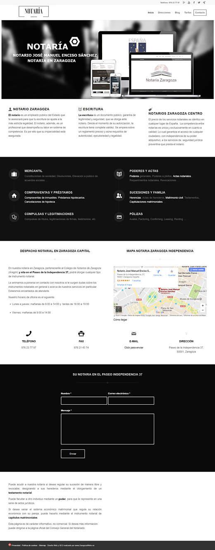 notario-zaragoza-diseño-web