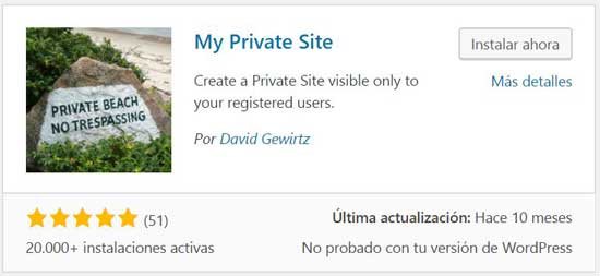 plugin-gratis-sitio-privado-wordpress